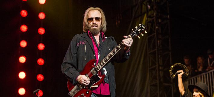 Η κιθάρα του Τομ Πίτι σίγησε χθες  (Φωτογραφία: ΑΡ)