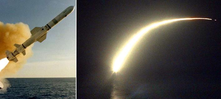 Πύραυλος Τόμαχοκ -Οι ΗΠΑ χτύπησαν τη Συρία με τον «βασιλιά των επιθέσεων» [εικόνες & βίντεο]