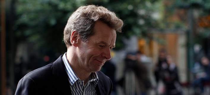 Ο επικεφαλής του ευρωπαϊκού τομέα του ΔΝΤ, Πολ Τόμσεν/Φωτογραφία: ΑΡ