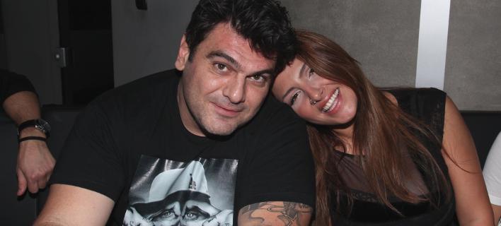 Τόνυ Μαυρίδης- Ελενα Παπαρίζου. Φωτογραφία: NDP