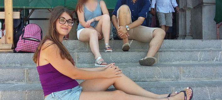 Η Ελένη Τοπαλούδη / Φωτογραφία: Facebook