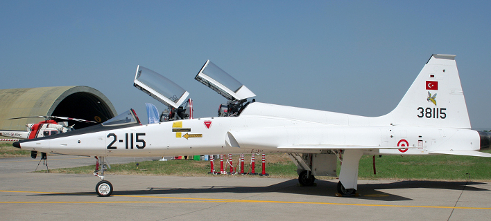 Τουρκικό εκπαιδευτικό αεροσκάφος Τ-38 / Φωτογραφία: αρχείου