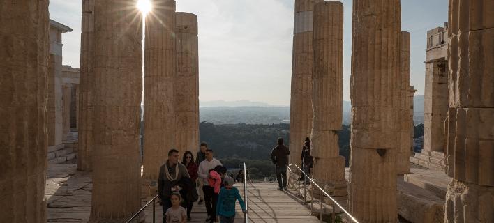 τουρίστες στην Αθήνα/Φωτογραφία: SOOC
