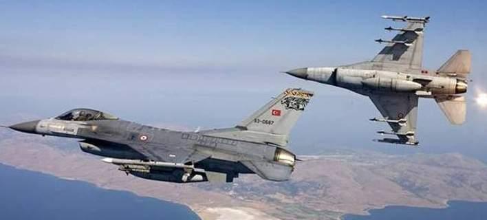 Τουρκικά F-16 -Φωτογραφία αρχείου Eurokinissi