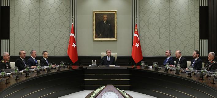 Απειλές από το Συμβούλιο Εθνικής Ασφάλειας της Τουρκίας