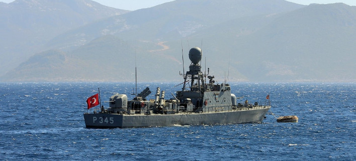 Νέα πρόκληση: Τουρκικό πολεμικό πλοίο έκανε βολές κοντά στο Φαρμακονήσι