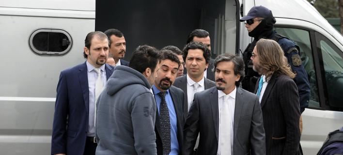 Ανοιχτό το ενδεχόμενο να δικαστούν στην Ελλάδα οι 8 Τούρκοι αξιωματικοί / Eurokinissi: ΜΠΟΛΑΡΗ ΤΑΤΙΑΝΑ