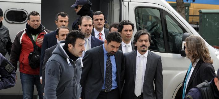 Οι Τούρκοι αξιωματικοί που διέφυγαν στην Ελλάδα (Φωτογραφία: EUROKINISSI/ ΤΑΤΙΑΝΑ ΜΠΟΛΑΡΗ)