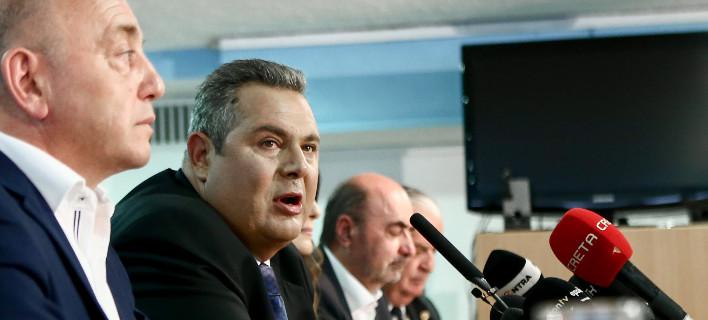 Θεόδωρος Τουσουνίδης, Πάνος Καμμένος /Φωτογραφία: Intime News