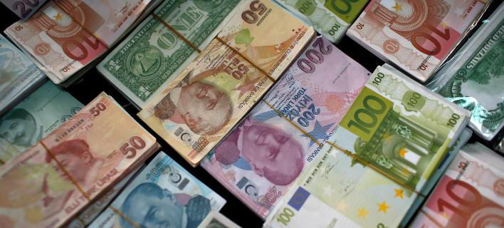 Σε νέο χαμηλό η ισοτιμία της τούρκικης λίρας έναντι του δολαρίου/Φωτογραφία: Pixabay