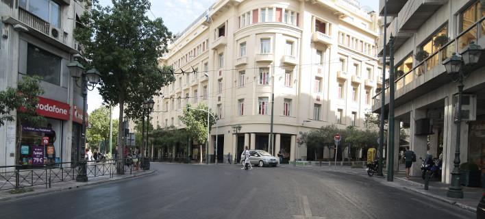 Kεντρικός δρόμος της Αθήνας/Φωτογραφία: Eurokinissi