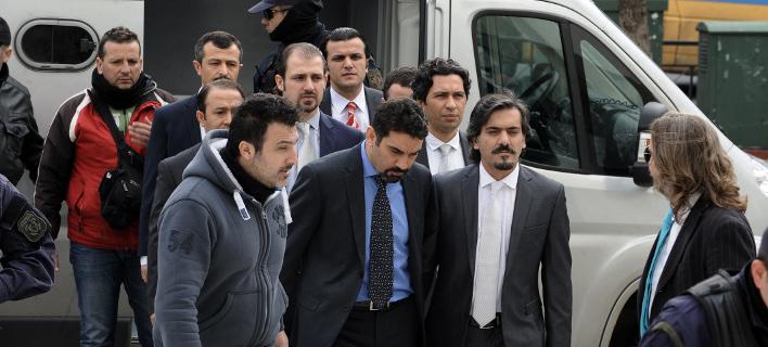 Ασυλο πήρε ο 1 από τους 8 Τούρκους αξιωματικούς (Φωτογραφία: EUROKINISSI/ ΤΑΤΙΑΝΑ ΜΠΟΛΑΡΗ)