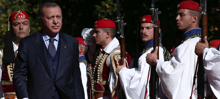 Φωτογραφία: Στην Αθήνα ο Τούρκος πρόεδρος/SOOC