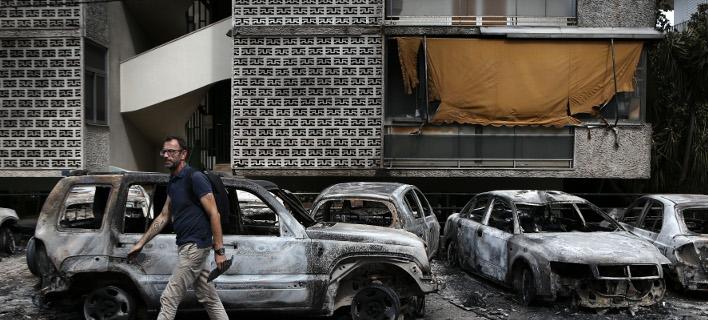 Τραγωδία στο Μάτι /Φωτογραφία: Intime NewsΤΖΑΜΑΡΟΣ ΠΑΝΑΓΙΩΤΗΣ