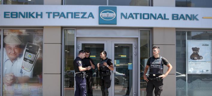 Φωτογραφία: INTIME/ Ενοπλη ληστεία σε υποκατάστημα της Εθνικής τράπεζας στην Καλλιθέα
