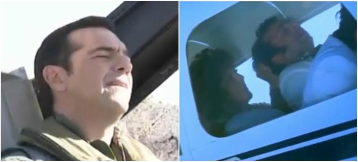 Το απίστευτο βίντεο της ΚΝΕ για την πτήση Τσίπρα με F-16 -«Τράβα μαλλί»