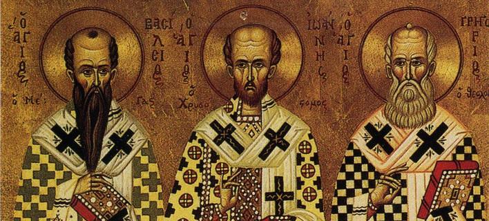 Αποτέλεσμα εικόνας για τρεις ιεραρχες εικονες