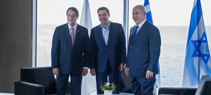 Προχωρούν οι συνομιλίες Ισραήλ, Ελλάδας και Κύπρου για τον αγωγό φυσικού αερίου EastMed