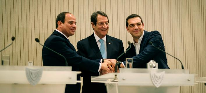 Τριμερής Σύνοδος/Φωτογραφία: Eurokinissi