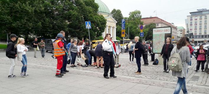 Φινλανδία: Μαχαιρώματα στο κέντρο του Τούρκου - Nεκρός ο δράστης [εικόνες]