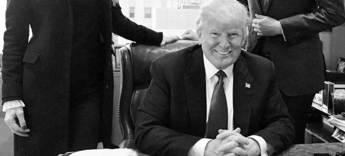 Η τελευταία φωτογραφία του Τραμπ στον Πύργο του πριν γίνει Πρόεδρος των ΗΠΑ [εικόνα]
