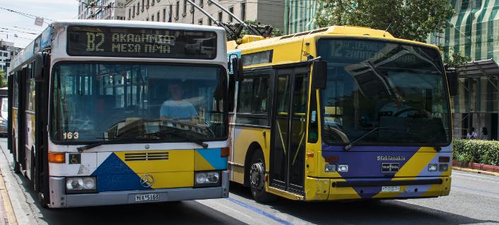 Φωτογραφία: Eurokinissi/ Nέα εποχή για λεωφορεία, τρόλεϊ και τραμ- Θα εγκατασταθεί δίκτυο Wi-Fi