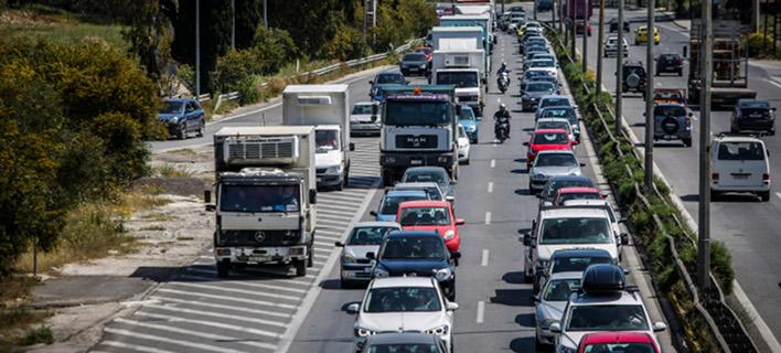 Η Εθνική οδός Αθηνών-Κορίνθου-Φωτογραφία: Eurokinissi/Στέλιος Μίσινας