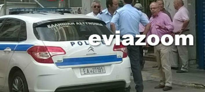 Εύβοια: Μηχανάκι παρέσυρε τον δήμαρχο Χαλκίδας [εικόνα]