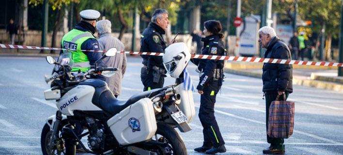 Ποιους δρόμους σε Αθήνα-Πειραιά κλείνει η Τροχαία για τα Θεοφάνεια -Φωτογραφία αρχείου: Eurokinissi-ΚΟΝΤΑΡΙΝΗΣ ΓΙΩΡΓΟΣ
