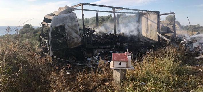 Τροχαίο δυστύχημα με 11 νεκρούς στην Καβάλα. Φωτογραφία: proininews