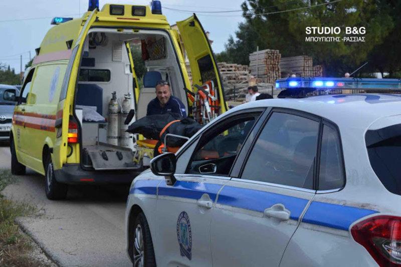 troxaio1a 1 iefimerida - Ναύπλιο: Αυτοκίνητο σφήνωσε σε τσιμεντένιο γεφυράκι - Νεκρός ο οδηγός. (Φώτο)