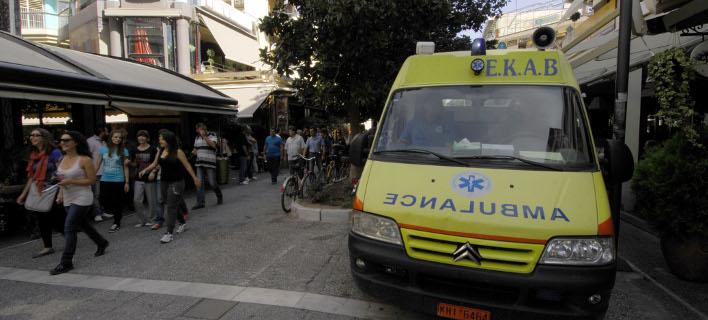 Ασθενοφόρο/Φωτογραφία αρχείου: Eurokinissi