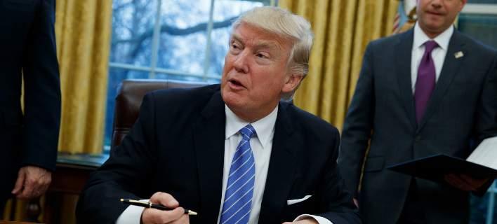 Ο Ντόναλντ Τραμπ ανακοίνωσε τον νέο Προσωπάρχη του Λευκού Οίκου/Φωτογραφία: EUROKINISSI
