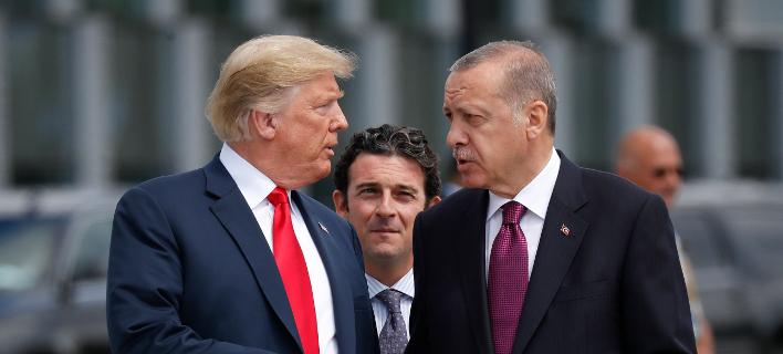 Ο Ερντογάν προσκάλεσε τον Τραμπ να επισκεφθεί την Τουρκία μέσα στο 2019 -Φωτογραφία αρχείου: AP