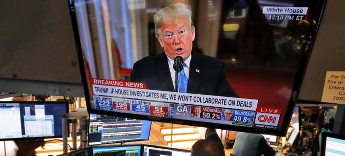 Ντόναλντ Τραμπ (Φωτογραφία: AP Photo/Richard Drew)