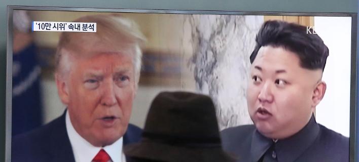 Παγκόσμια ανησυχία προκαλεί η Β. Κορέα /Φωτογραφία: AP Photo/Ahn Young-joon