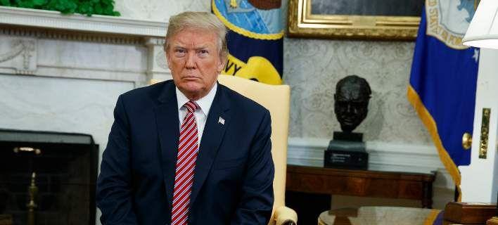 Ο Ντόναλντ Τραμπ / Φωτογραφία: AP Photo/Alex Brandon)