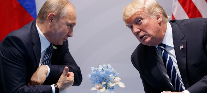 Ο Τραμπ τηλεφώνησε στον Πούτιν για να τον συγχαρεί για την επανεκλογή του