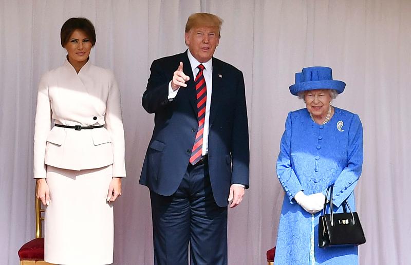 Ήταν η πρώτη συνάντηση του Αμερικανού προέδρου με την βασίλισσα Ελισάβετ