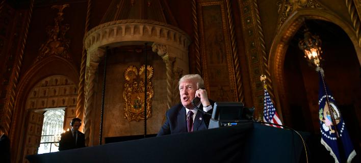 Ο Ντόναλντ Τραμπ (Φωτογραφία: AP Photo/Susan Walsh)