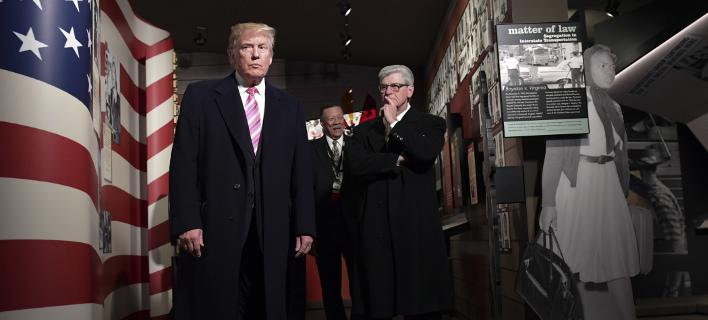 Ο Ντόναλντ Τραμπ (Φωτογραφία: ΑP/ Susan Walsh)