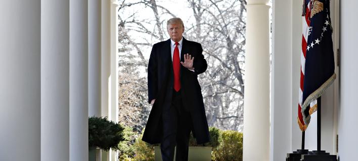 Ο Ντόναλντ Τραμπ/ Φωτογραφία: AP- Jacquelyn Martin