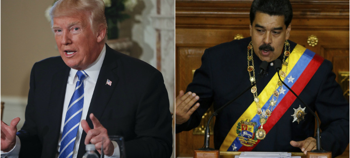 Ο Τραμπ κλιμακώνει την ένταση με τη Βενεζουέλα (Φωτογραφία: ΑP/ Pablo Martinez Monsivais, Ariana Cubillos)