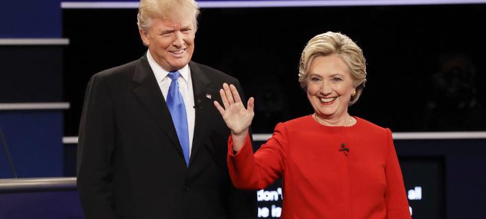 Ο Τραμπ ζητά από την Κλίντον να είναι ξανά υποψήφια (Φωτογραφία: AP/ David Goldman)