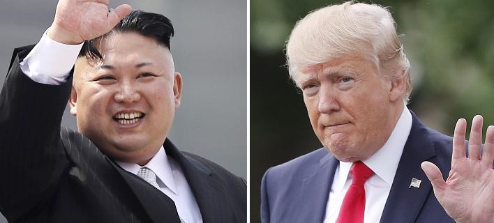 Ο Κιμ ακολουθεί μια στρατηγική, ο Τραμπ εκτοξεύει απειλές (Φωτογραφία: AP/ Wong Maye-E, Pablo Martinez Monsivais)