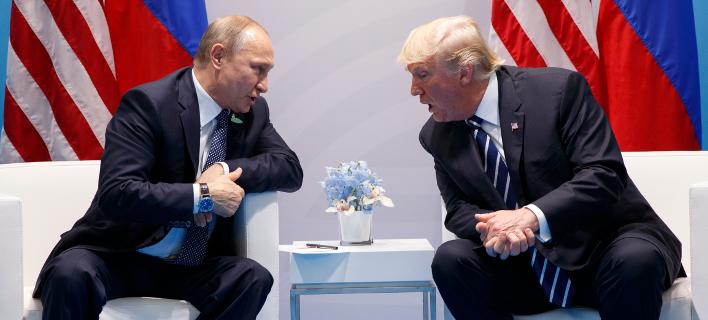 Σε ψυχροπολεμιό κλίμα ΗΠΑ-Ρωσία -Φωτογραφία: AP Photo/Evan Vucci