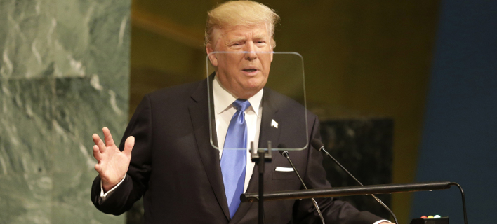 Τράμπ μαινόμενος στον ΟΗΕ: Απειλεί Β.Κορέα, Βενεζουέλα, Ιράν