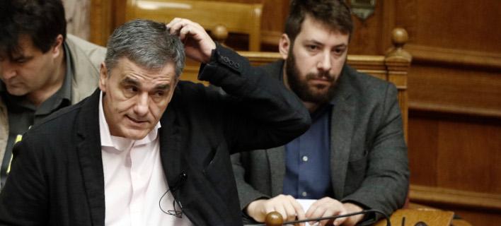 Ερώτηση 7 βουλευτών της ΝΔ σε Τσακαλώτο - EUROKINISSI/ΓΙΩΡΓΟΣ ΚΟΝΤΑΡΙΝΗΣ