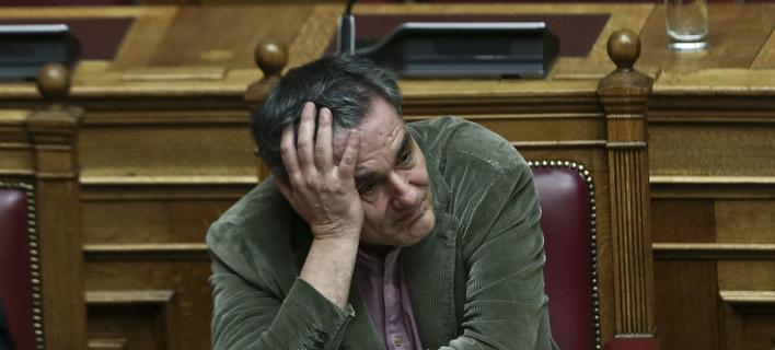Ο υπουργός Οικονομικών Ευκλείδης Τσακαλώτος- φωτογραφία intimenews