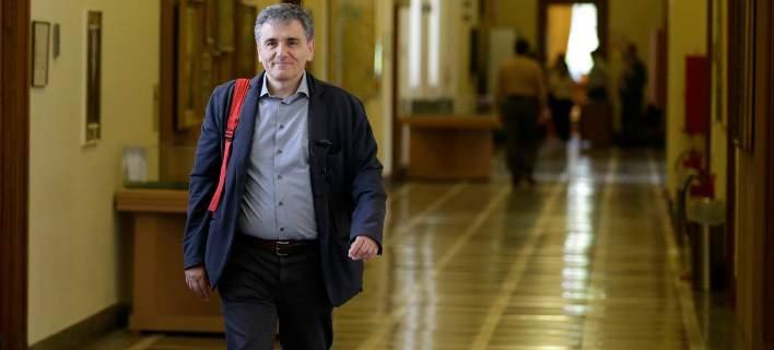 ΥΠΟΙΚ: «Σε καλό κλίμα» οι συναντήσεις Τσακαλώτου - Ευρωπαίων αξιωματούχων